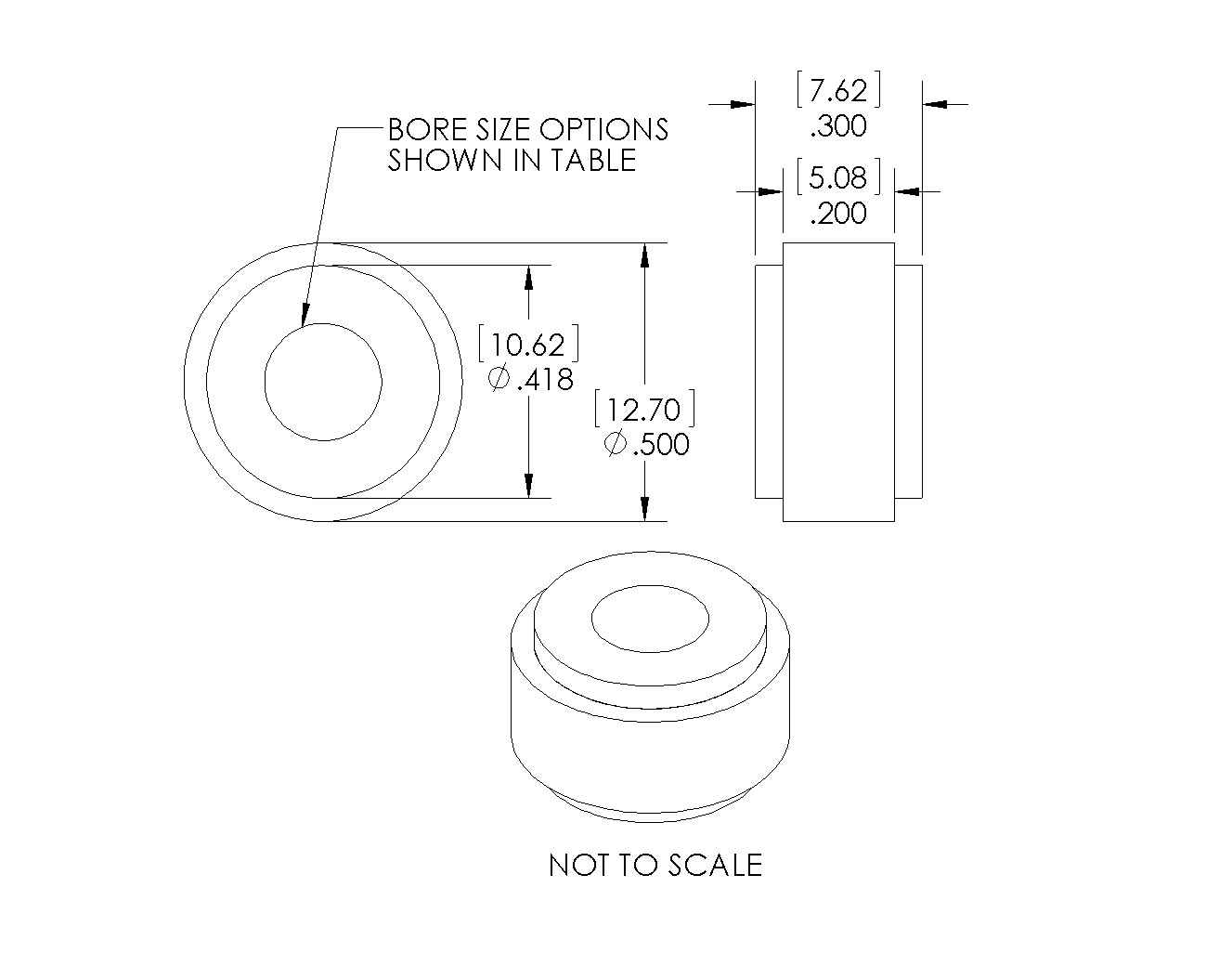 H2 Encoder G8H Drawing