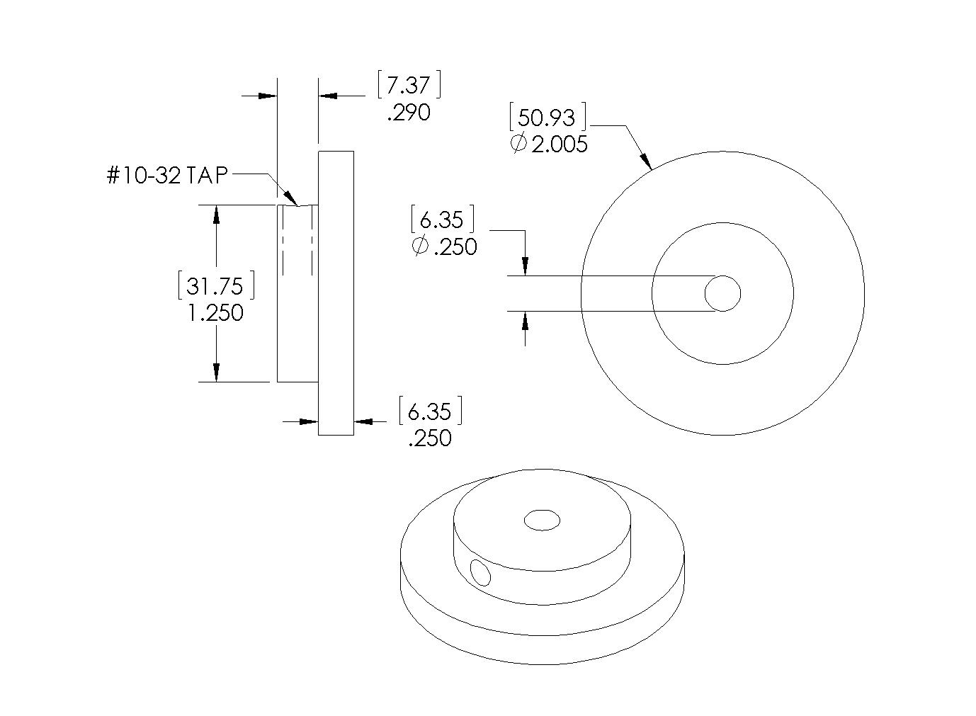 M4 Encoder G23B Drawing