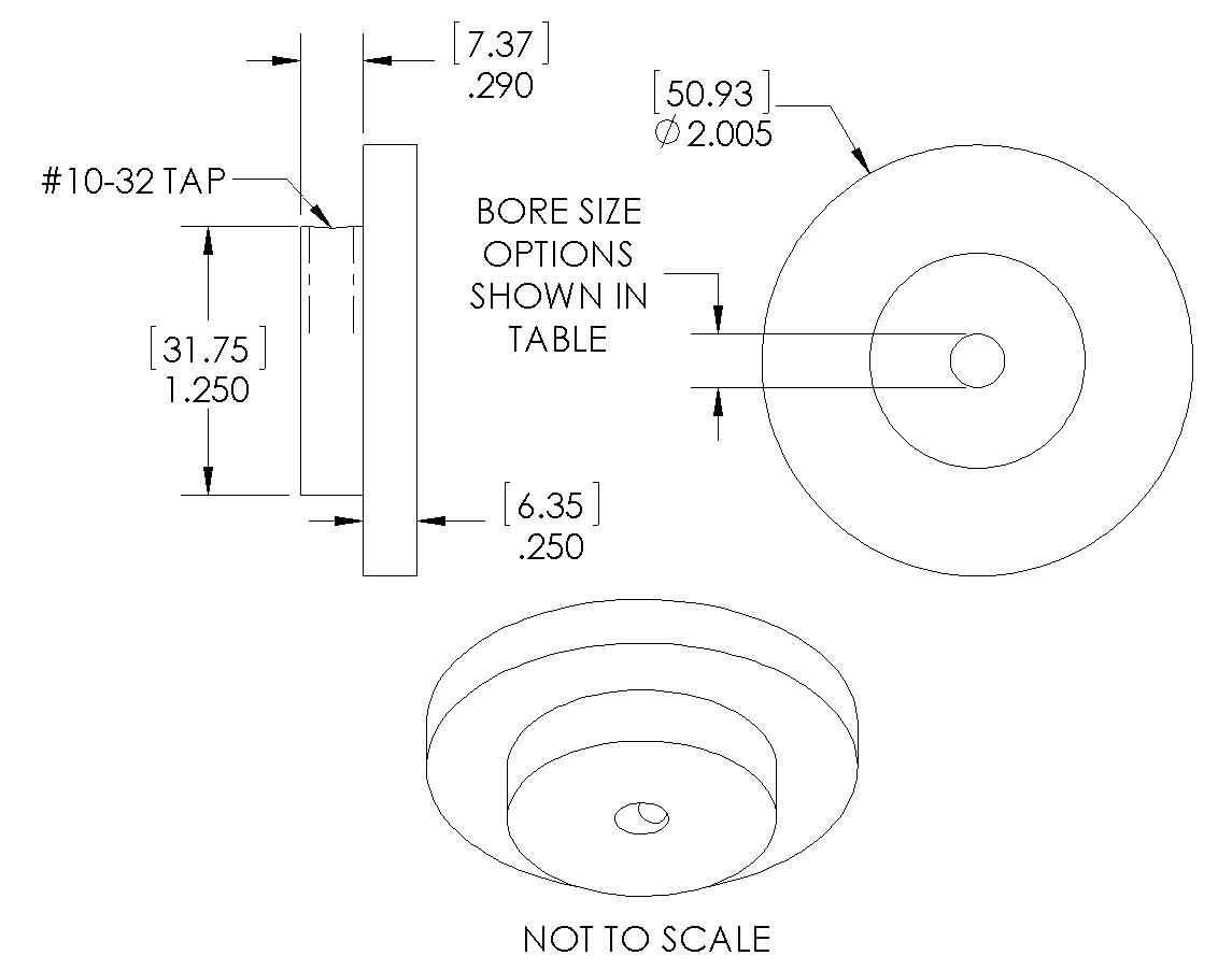 N6 Encoder G32B Drawing